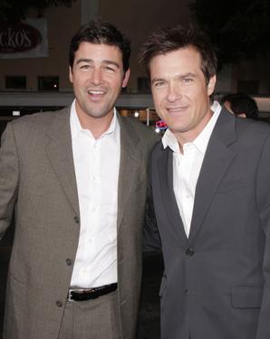 Kyle Chandler and Jason Bateman at the premiere of &quot;The Kingdom.&quot;